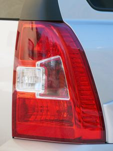 Free Taillight Car Closeup Stock Photography - 18112252