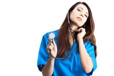 Free Woman Doctor Stock Image - 18112581