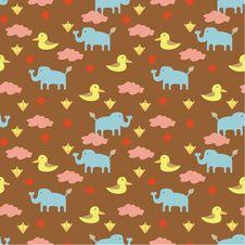 Free Seamless Animal Pattern Stock Photos - 18113723