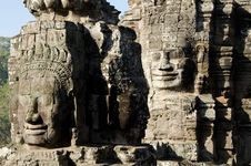 Free Bayon Face, Cambodia Stock Photos - 18113903