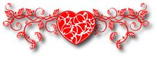 Free The  Abstract Hearts Background Royalty Free Stock Images - 18114799