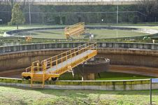 Free Sewage Plant Royalty Free Stock Photo - 18115005