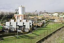 Sewage Plant Stock Images