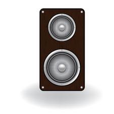 Audio Speaker Icon Stock Image