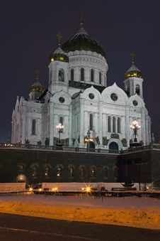 Free Cathedral Of Christ The Savior In Moscow, Russia Royalty Free Stock Photography - 18115597