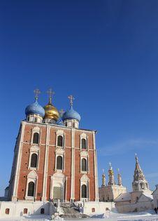 Free Ryazan Kremlin Towers Stock Image - 18115891