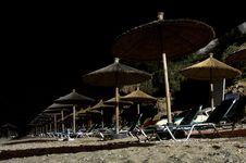 Free Beach Umbrellas Stock Photography - 18116012