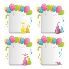 Birthday Frames Royalty Free Stock Image