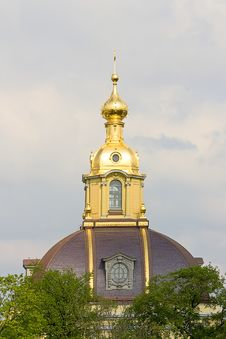 Free Dome Of Church Royalty Free Stock Photography - 18116837