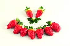 Free Smiley Strawberry Stock Photo - 18117390