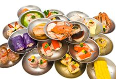 Assorted Dim Sum Royalty Free Stock Photo