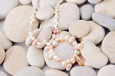 Free Pearls Close Up Stock Image - 18118091