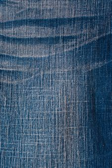 Free Blue Jean Texture. Stock Photography - 18118242