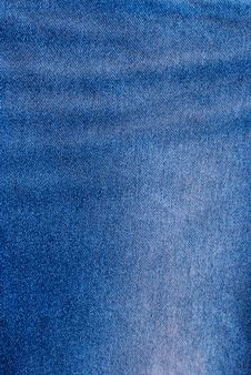 Free Blue Jean Texture. Stock Photo - 18118450