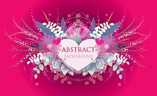 Free Vector Abstract Background Royalty Free Stock Photo - 18118775