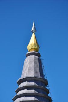 Free The Stupa Phra Mahathat Naphamethanidon Royalty Free Stock Images - 18119239