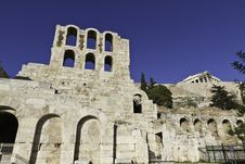 Free Odeon Of Herodes Atticus Royalty Free Stock Photo - 18119805