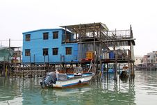 Free Tai O, The Fishing Village In Hong Kong Royalty Free Stock Image - 18119996