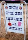 Free Popcorn Sign Stock Image - 18125571