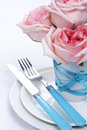 Free Romantic Table Setting Stock Photos - 18127223