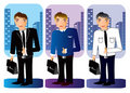 Free Business Office People  Illustration Royalty Free Stock Photography - 18127277