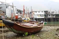 Free Tai O, The Fishing Village In Hong Kong Royalty Free Stock Photos - 18120118