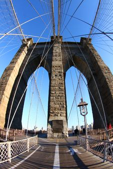 Free Brooklyn Bridge Stock Image - 18120271