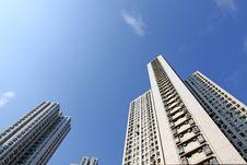 Free Hong Kong Apartment Blocks Stock Image - 18120591