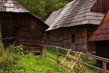 Free Traditional Slovakian Timber Stock Image - 18120701