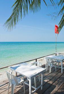 Free Seaside Cafe Stock Photo - 18121380