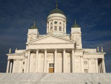 Free Helsinki Cathedral Royalty Free Stock Photography - 18121927
