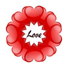 Free Valentines Bacground Stock Image - 18122301