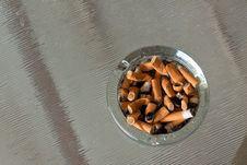 Ash Tray Royalty Free Stock Photo