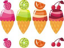 Free Ice Cream Royalty Free Stock Photo - 18122935
