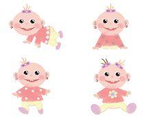 Free Baby Girls Stock Image - 18123101
