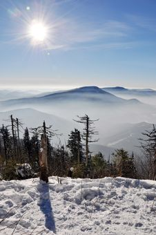 Free Beskydy Mountains Royalty Free Stock Photography - 18123187