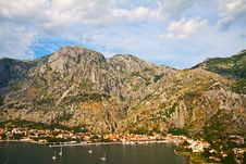 Kotor And Boka Kotorska Bay Stock Image