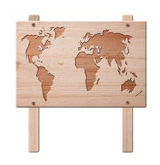 Free World Map Sign, Isolated, Clipping Path. Stock Photography - 18123812
