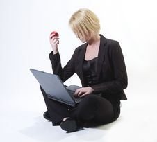 Free Businesswoman Isolated Stock Image - 18124501