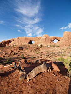 Free Arches National Park Royalty Free Stock Images - 18124689