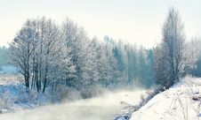 Free Winter Landscape Stock Image - 18125161