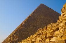Free Ruins Of The Pyramid Of Cheops Royalty Free Stock Photography - 18125787