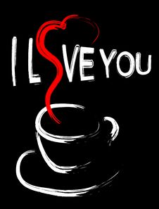 Сup Of Coffee For Valentine S Day