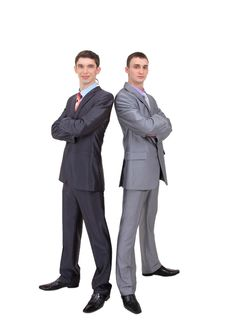 Free Two Young Businessman Stock Photos - 18126233