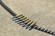 Free Military Bullets Stock Photo - 18126370