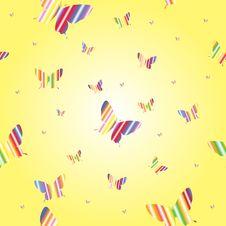 Free Abstract Seamless Wallpaper Pattern Butterflies Stock Photos - 18126763