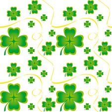 Free Irish Seamless Pattern Royalty Free Stock Image - 18126806