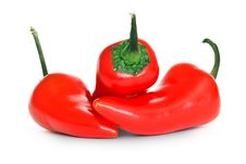 Free Red Chili Peppers Royalty Free Stock Photography - 18127267