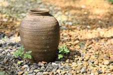 Free Thai Jar Royalty Free Stock Images - 18127429