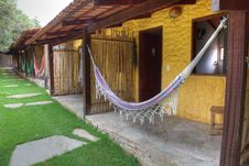 Free Hanging Hammocks Royalty Free Stock Image - 18127446